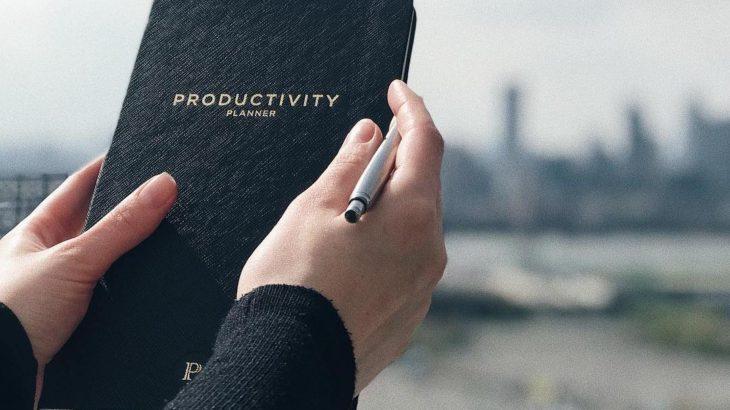 プロダクティビティ・プランナーで自宅からの仕事に集中して効率を上げる方法